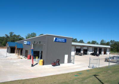 Robertson Automotive Metal Building Outside View