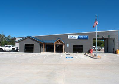Robertson Automotive Metal Building Street View