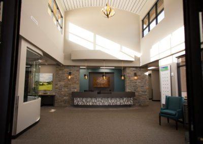 Heaton Eye Commercial Design Build Entrance