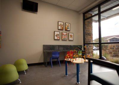 Heaton Eye Commercial Design Build Play Room