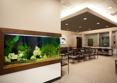 Heaton Eye Commercial Design Build Lobby