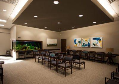 Heaton Eye Commercial Interior Waiting